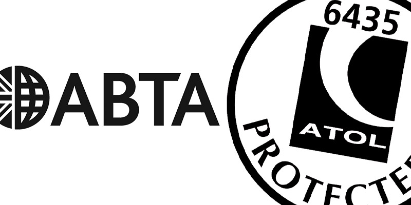 100% Holiday Protection with ABTA and ATOL