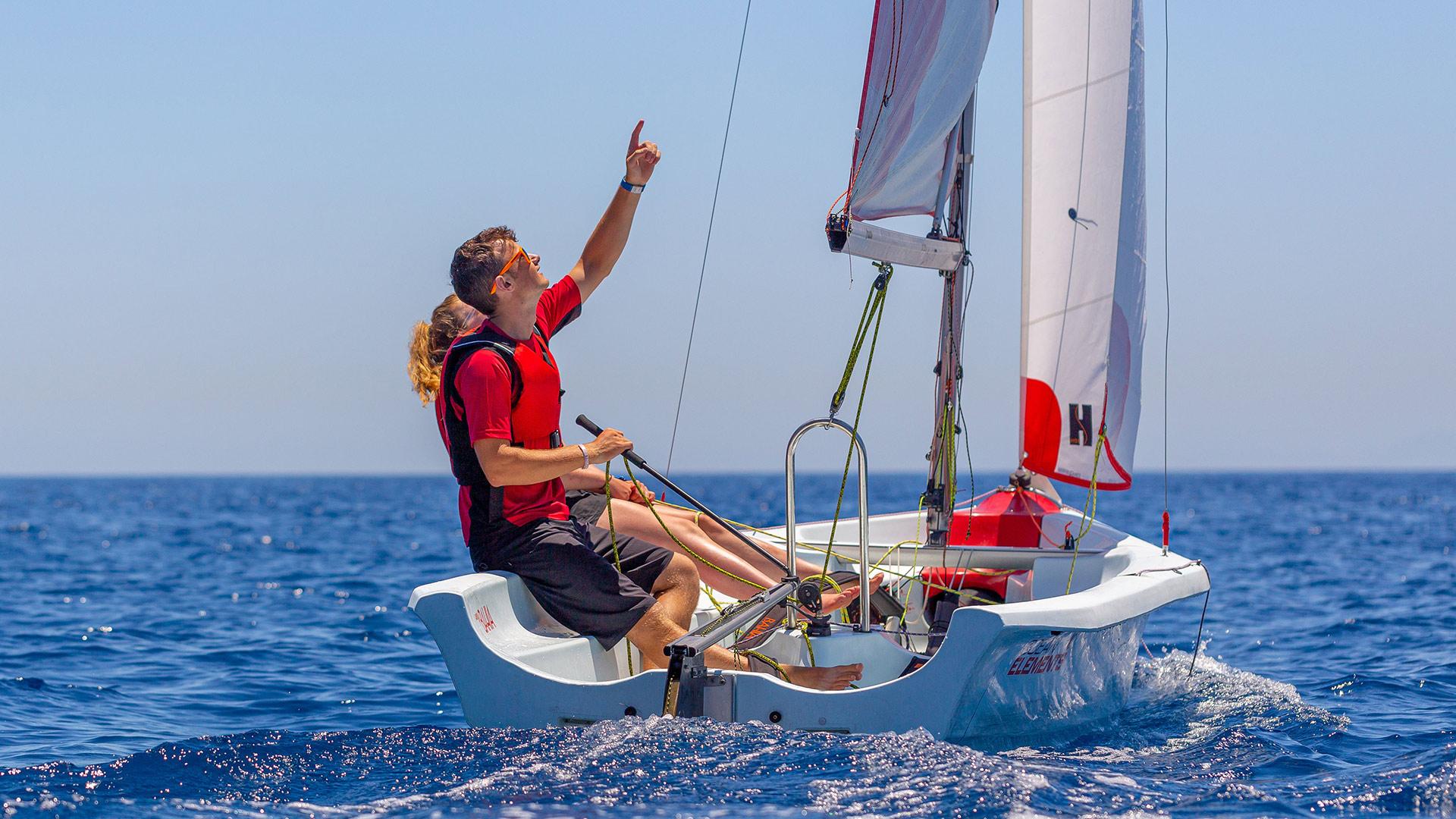 Dinghy Sailing, Kos